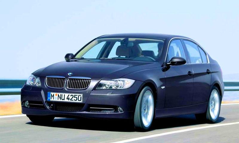 BMW третьей серии стал самым продаваемым автомобилем премиум-класса в 2006 году