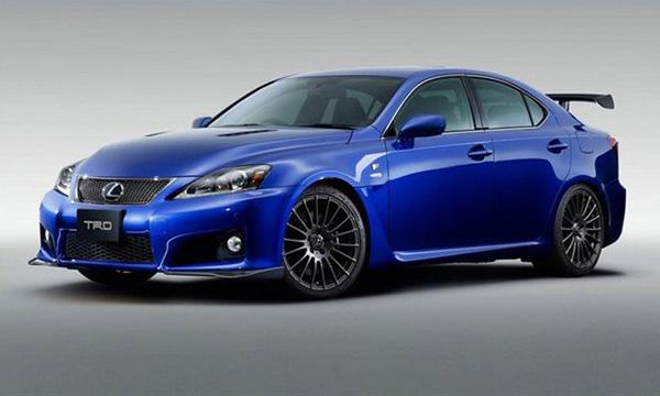 Lexus выпустил «заряженную» версию IS-F