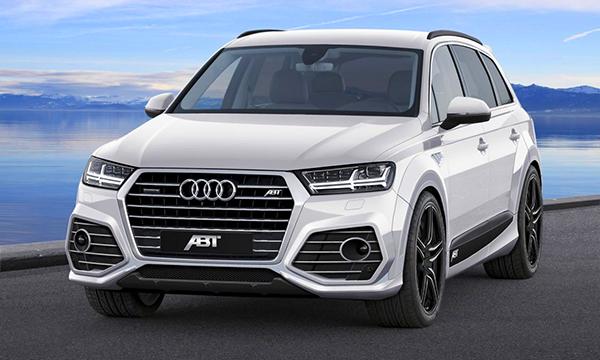 Кроссовер Audi Q7 получил новый дизайн