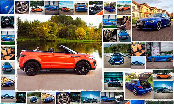 Бортовой журнал: F-Type SVR, RS3, Evoque Cabrio и MX-5