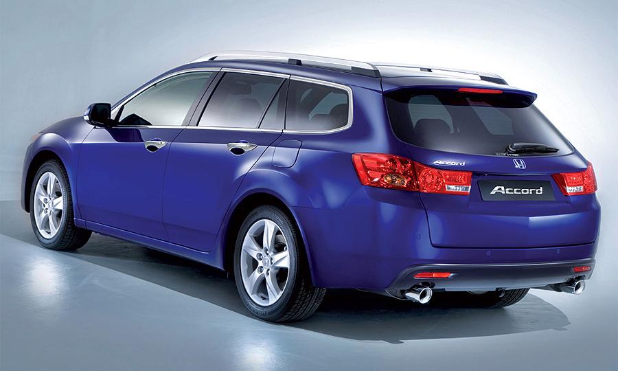 Европейская версия универсала Honda Accord стала обладательницей немецкой премии