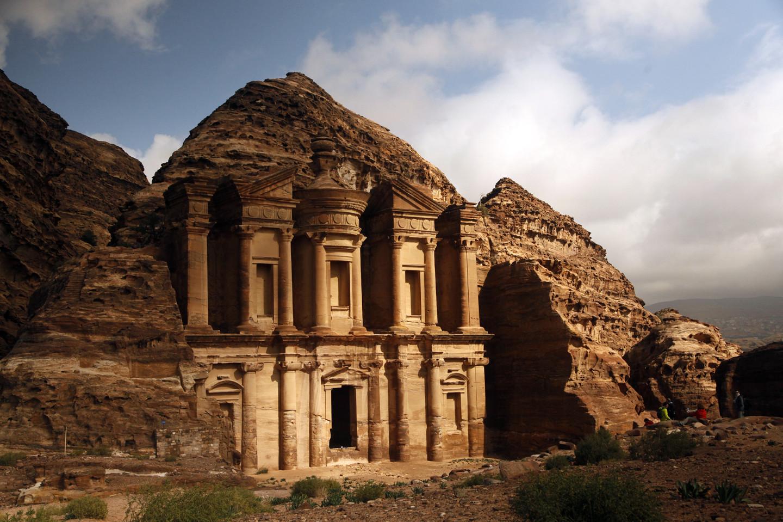 Город Петра в Иордании