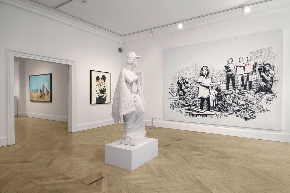 Выставка работ Бэнкси