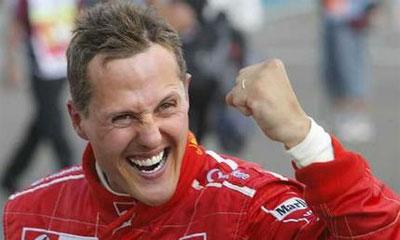 Шумахер переквалифицировался в таксиста