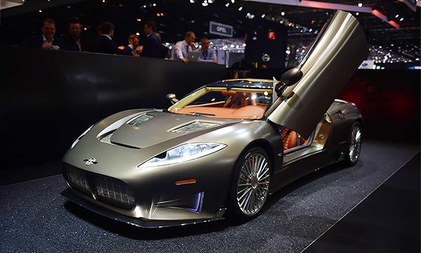Компания Spyker показала на автосалоне в Женеве 525-сильный спорткар