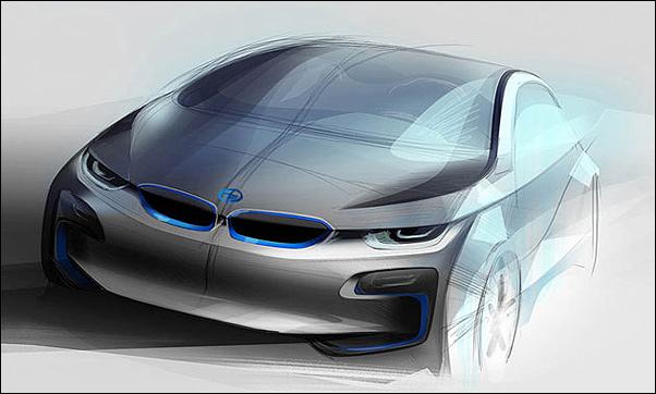 BMW покажет двухдверный i4