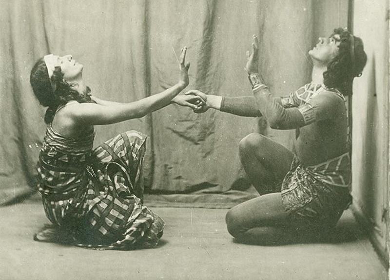 Сцена из балета «Клеопатра»