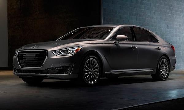 Genesis планирует выпустить шесть моделей к 2020 году