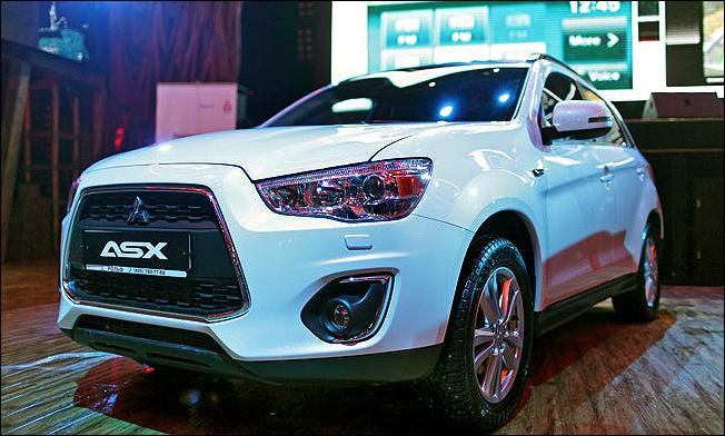 Mitsubishi ASX получил новую подвеску