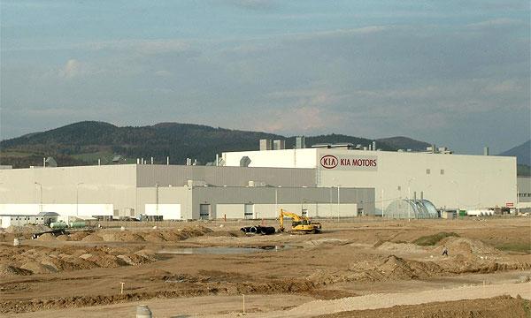 Kia завершила сооружение завода в г. Жилина (Словакия)