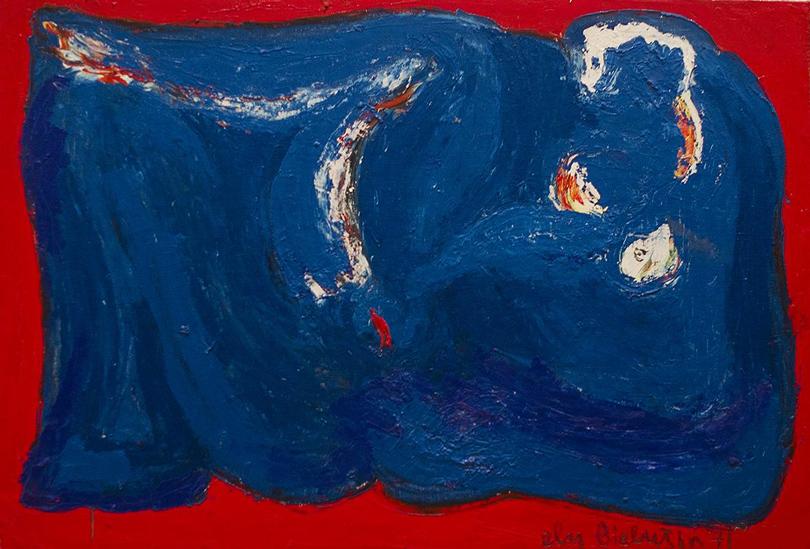 Элий Белютин. «Обнаженная», 1969