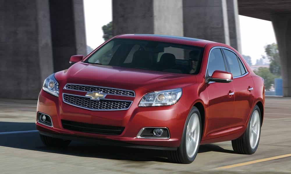Новый Chevrolet Malibu отказался от V6 и стал мощнее