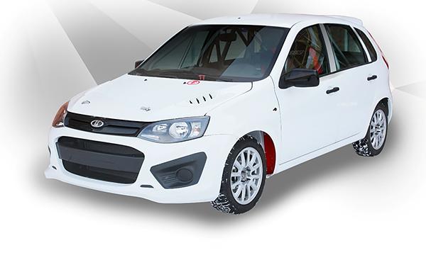 В Тольятти началось производство Lada Kalina NFR R1