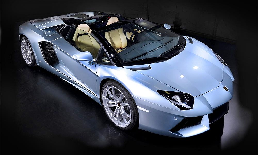 Lamborghini Aventador. Срывает крышу