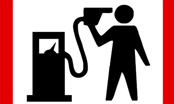 Столичные автомобилисты провели акцию против роста цен на бензин