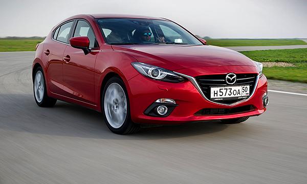 Игрушка. Тест-драйв Mazda3