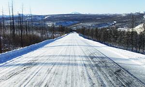 Завершилась реконструкция федеральной трассы Колыма