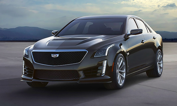 Cadillac представил спортивный седан CTS-V