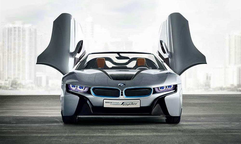 Электрическому BMW i8 сорвало крышу. ФОТО