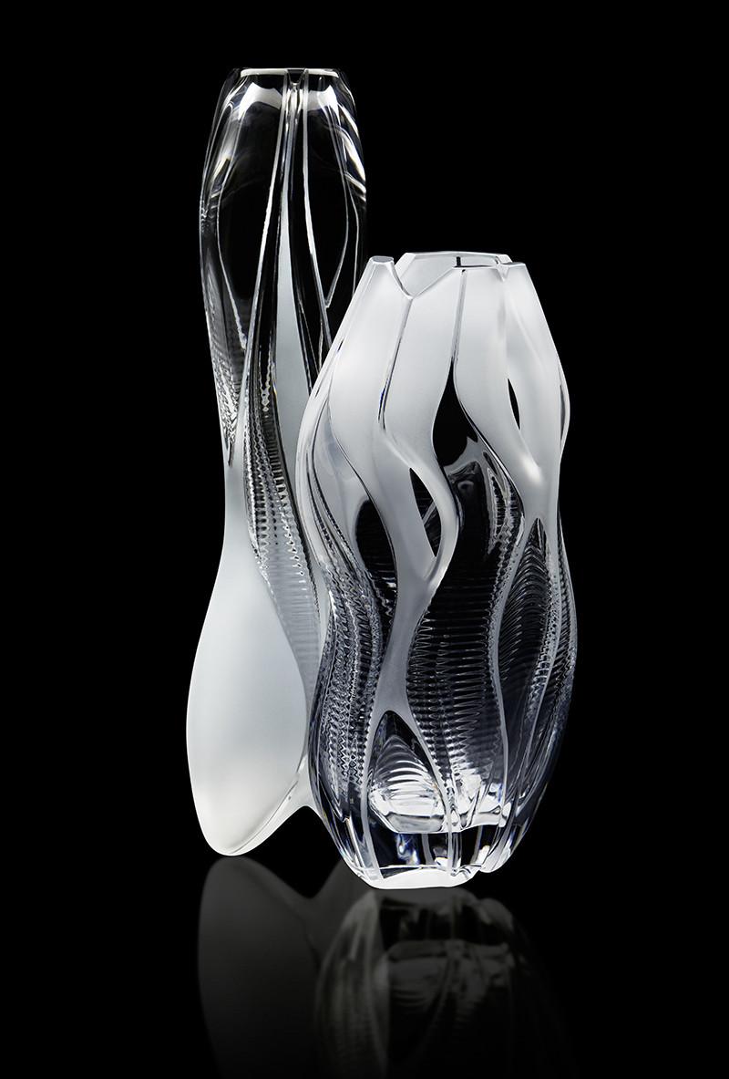 Капсульная коллекция ваз для цветов Захи Хадид