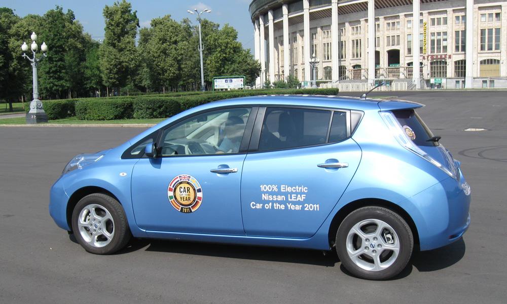Заряжай: Nissan Leaf добрался до России