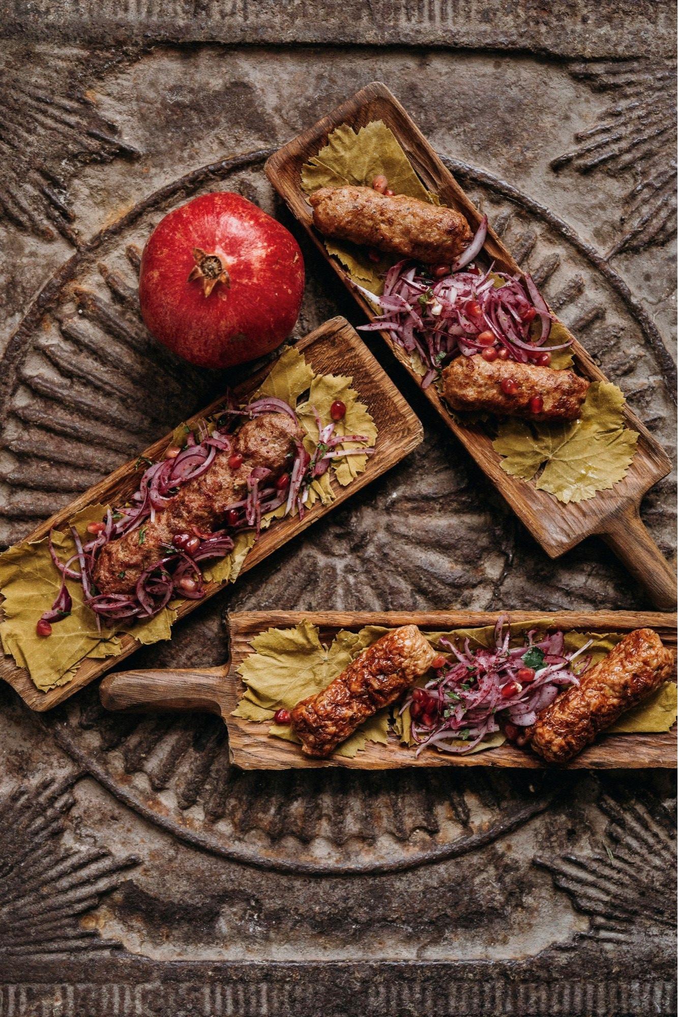 Блюда из специального предложения «Казбек без границ»
