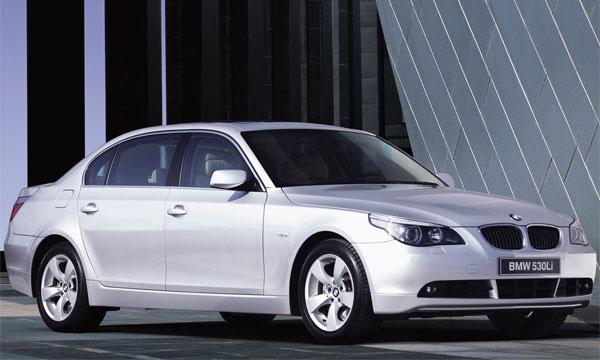 BMW разработал для Китая удлиненную 5 серию