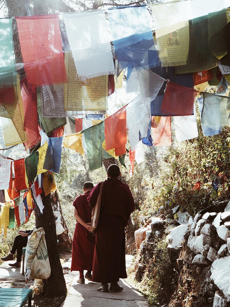 Обряд «кора» вокруг резиденции Далай-ламы