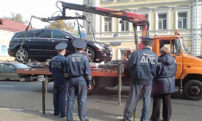 ГИБДД проводит в Москве спецрейд «Парковка»
