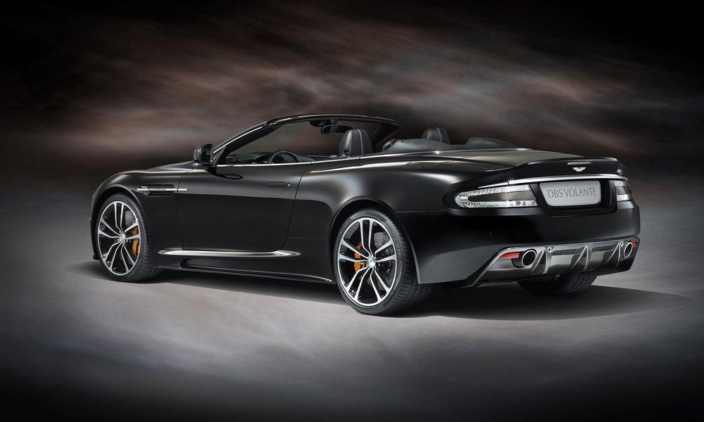Aston Martin Moscow принимает заказы на DBS Carbon Edition