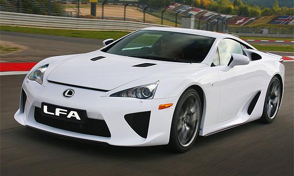 Lexus отказался от разработки второго поколения спорткара LFA