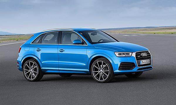 Audi объявила старт продаж обновленного Q3