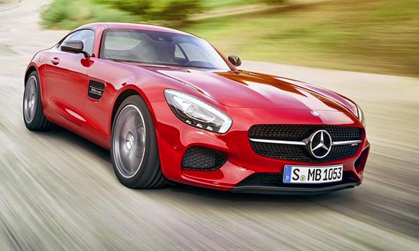 Mercedes рассекретил спорткар AMG GT