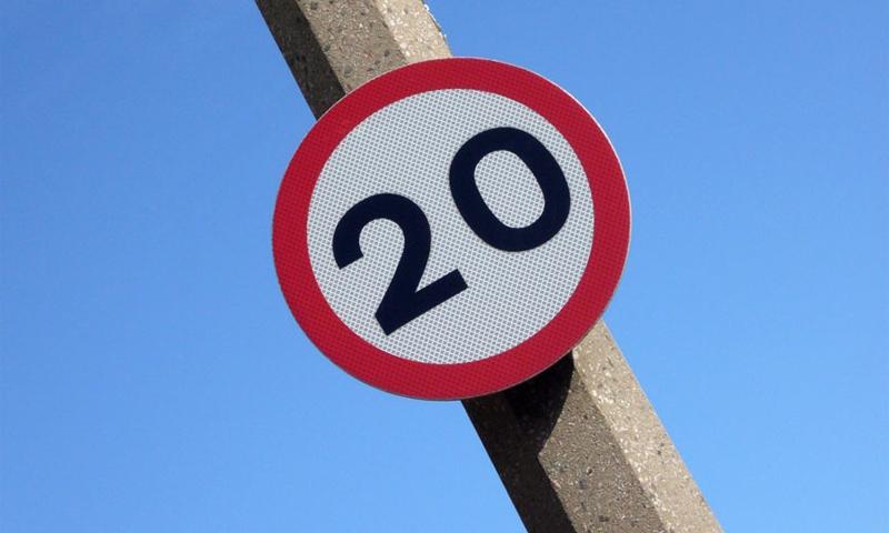 В столице Шотландии ограничили скорость до 30 км/ч