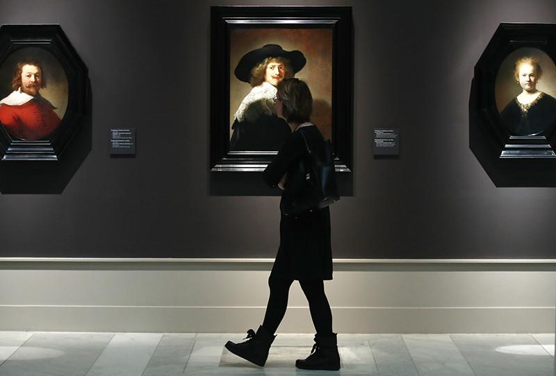 Выставка шедевров Лейденской коллекции