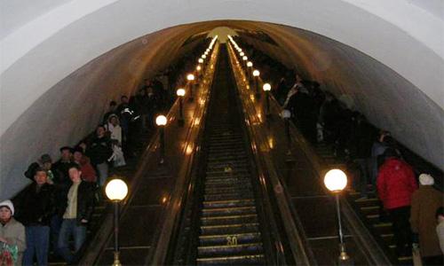 В Москве меняется режим работы станции метро Октябрьская