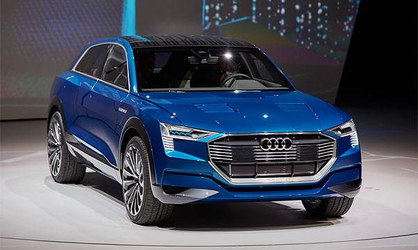 Audi Q6 и другие электрические кроссоверы из будущего