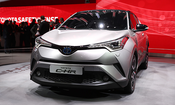 Toyota представила конкурента Nissan Juke