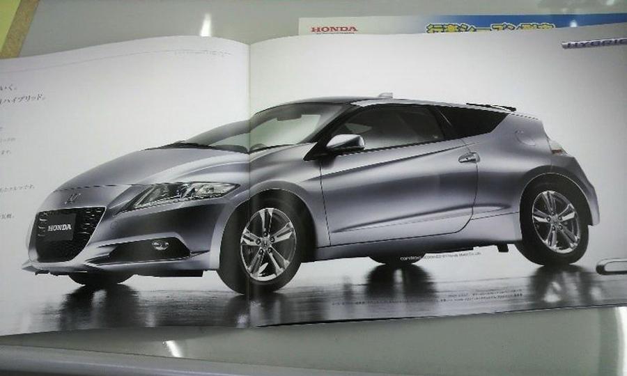 Honda рассекретила характеристики гибридного CR-Z