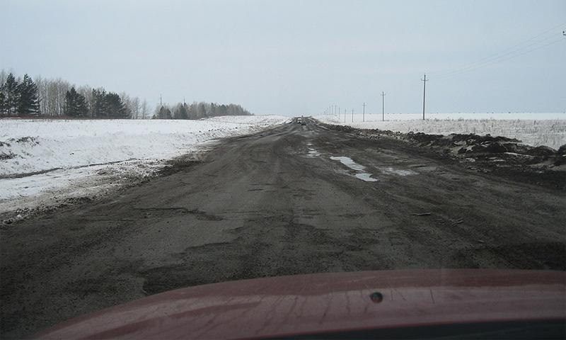 На ремонт российских дорог требуется 70 лет