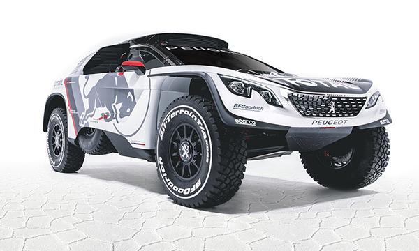 Компания Peugeot рассекретила новый внедорожник для ралли «Дакар»
