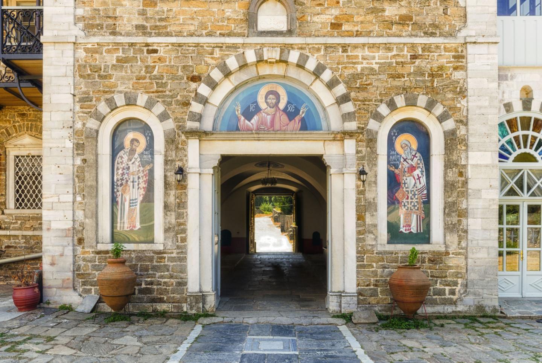 Андреевский монастырь в Афоне, Халкидики, Греция