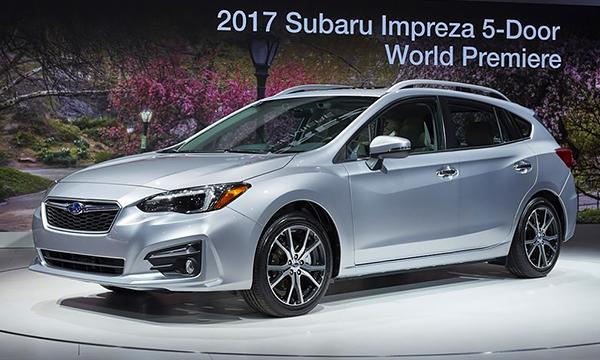 Хэтчбек Subaru Impreza после смены поколения стал безопаснее