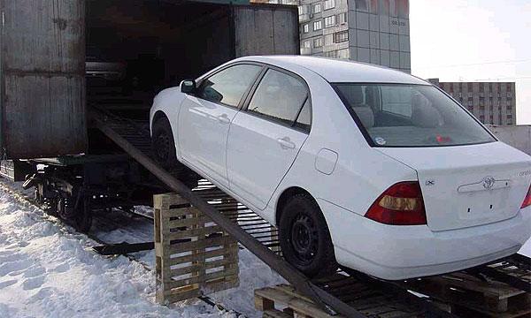 Японские преступники ввезли в Россию 300 угнанных машин