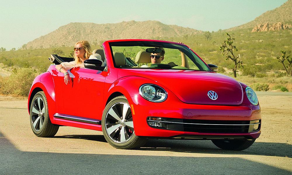 Volkswagen Beetle лишился крыши, но остался верен традициям