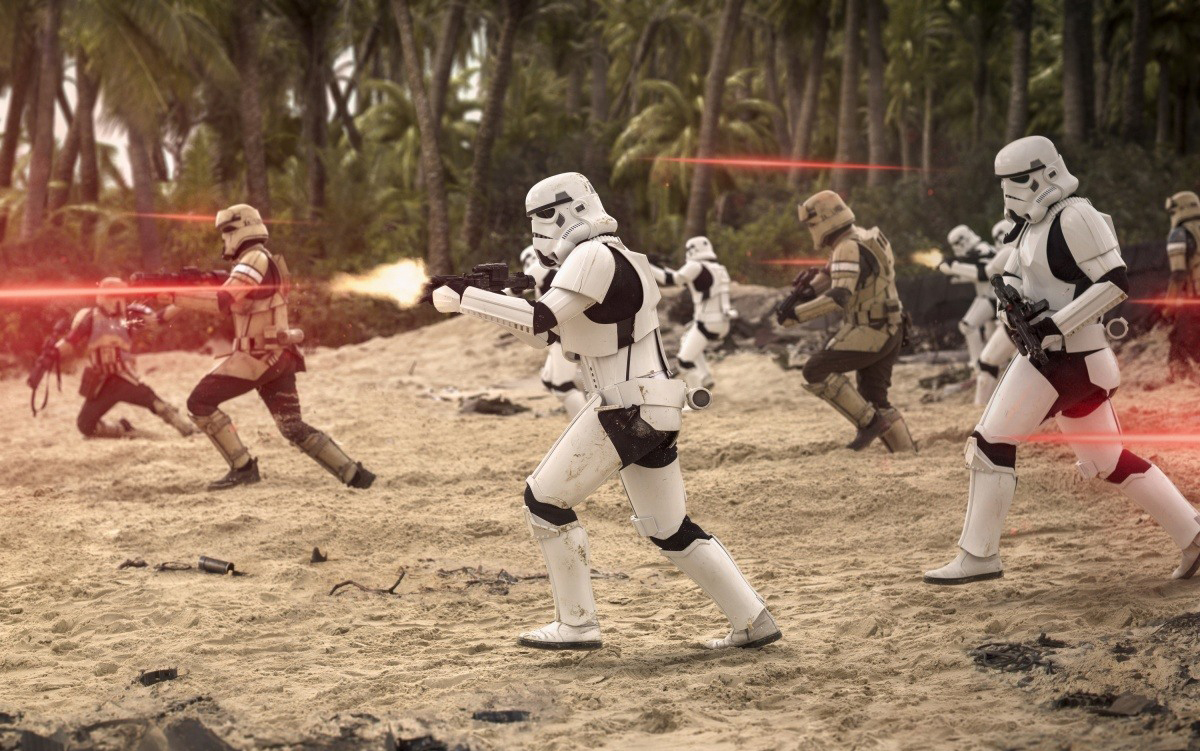 Кадр из фильма «Изгой-один: Звездные войны. История»