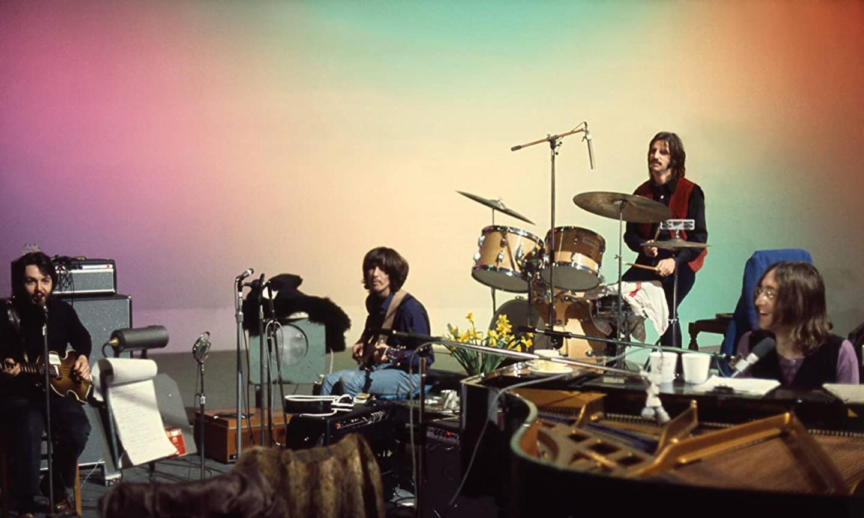 Кадр из фильма «The Beatles: Get Back»