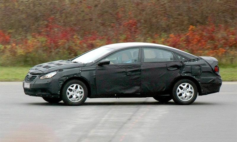 Hyundai готовит конкурента Mercedes-Benz CLS