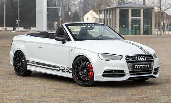 Audi A3 Cabrio получил 426-сильный мотор