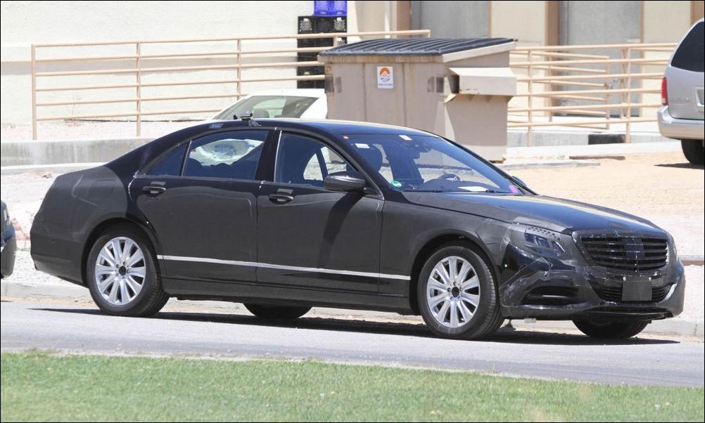 Новый S-класс – самый безопасный Mercedes-Benz в истории